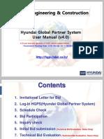 10. HGPS User Manual (Bid Submission)