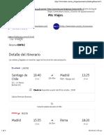 Itinerario Gatica
