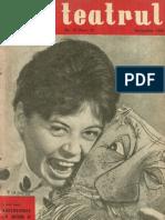 Revista Teatrul, nr. 12, anul V, decembrie 1960