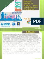Keynote ICWT2016 5G Beamforming