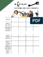 Coraline Worksheet