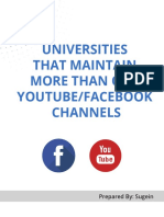 University Youtube and FB.pdf