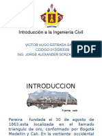 Introducción a La Ingeniería Civil Diapositivas