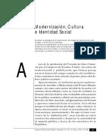 Gilberto_Giménez_Modernización_cultura_e_identidad_social