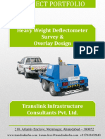 Falling Weight Deflectometer (FWD) Projects in India
