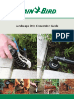 Landscape Drip Conversion Guide