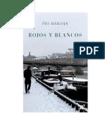 Baroja Pio - Rojos Y Blancos