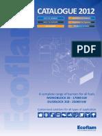 Ecoflam Catalogue 2012
