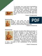 Amrutvachan Swami Vivekananda