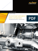 Speciality Lubricants for Machine Tools