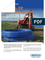 Wavin PE Pressure Pipes Data Sheet