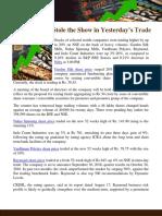 Textile Stocks