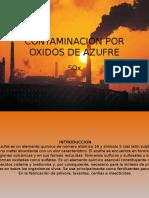 CONTAMINACION POR OXIDOS DE AZUFRE