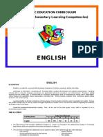 English Curriculum, Philippine DepEd
