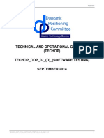 TECHOP Software Testing