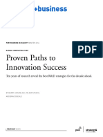 Proven Paths to Innovation Success
