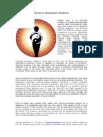 Why Chinese Medicine is Alternative Medicine