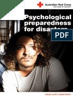 Red Cross Psychological Preparedness Booklet