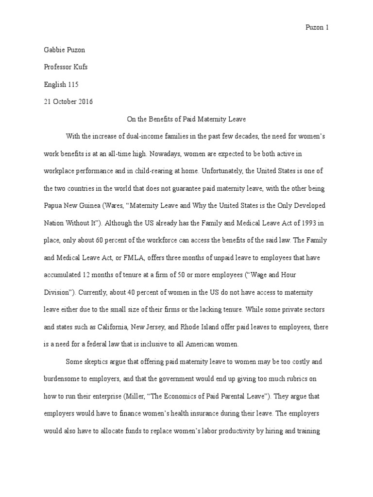 Black bear research paper