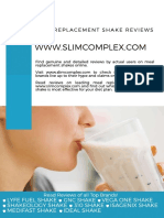 Meal Replacement Shake Reviews