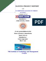 118226417 Vikash Kumar Hdfc Bank Fance
