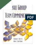 Small Group and Team Communication, 4th ed (Harris &amp_  Sherblom).pdf