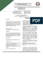 Informe de Espuma de Poliuretano