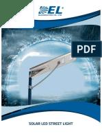 Solar LED Street Light Catalogue(DEL)
