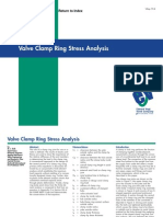 Valve Clamp Stress Analysis