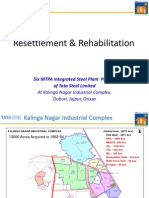 Resettlement & Rehabilitation Programme by Tata Steel at Kalinganagar Industrial Complex