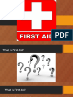 first aid powerpoint