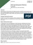 Gartner Reprint Mobile Platform 2016 June