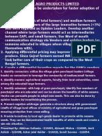 Edible Agro Product