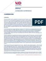USAID Land Tenure Cameroon Profile