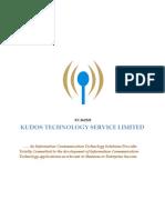 KUDOS TECHNOLOGY SERVICES NIGERIA LIMITED COMPANY PROFILE
