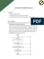 Prakt 1 Pengantar Konsep Pemrograman