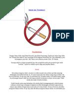 Rokok Dan Faedahnya