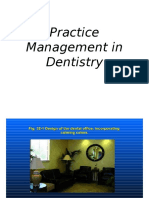 Practice Management in Dentistry.