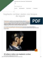 Implante Coclear_ Mejor Con Lengua de Signos _ Escuelas Excepcionales