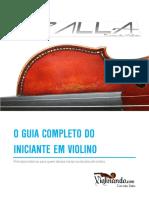 Spalla - O Guia Completo Para o Iniciante Em Violino