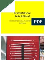Instrumental Para Resinas