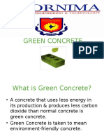 Green Concrete PPT