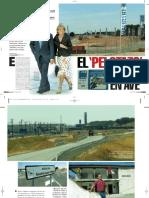 Esperanza Aguirre y el AVE a Guadalajara, según Interviú