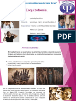 Diapositiva Clinica Esquizofrenia