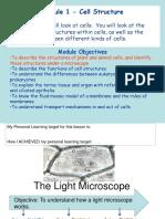 1 the light microscope