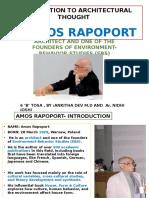 Amos Rapopot