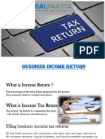 Business Income Return