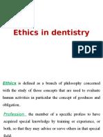 Ethics in Dentistry Level 12