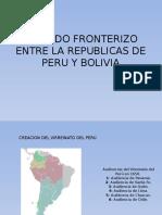 Tratado Fronterizo Entre La Republicas de Peru y