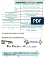 3  the electron microscope differentiated